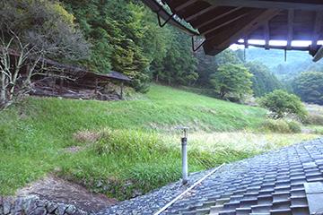 裏側の景観
