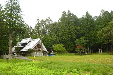 円川の家 景観