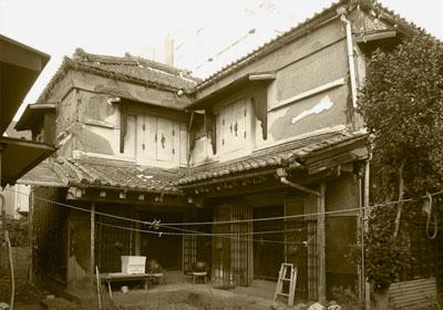 昭和測量ゲストハウス ビフォー