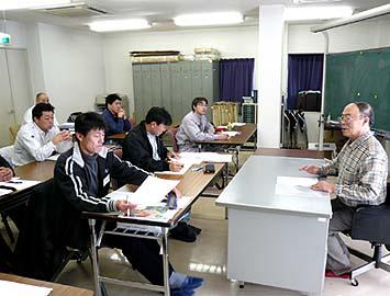 2月4日文化財の調査法について畑野先生から6時間の講義講習を受けました