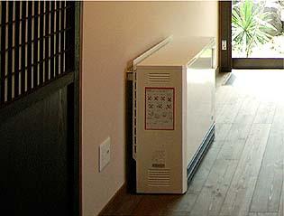 室内の空気循環装置、快適な温熱環境を実現