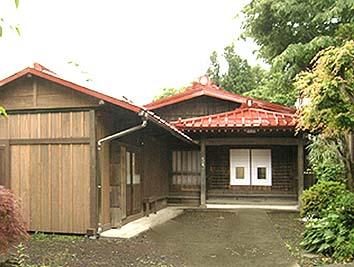 外川家住宅・御師の家の正面姿図