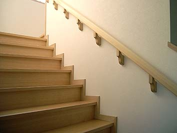 階段室手すり
