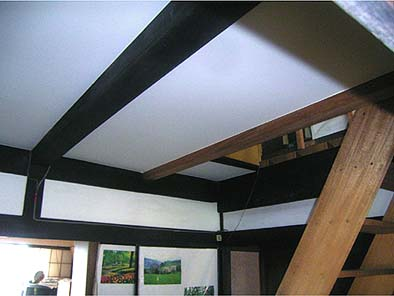 納戸天井修理工事 完成