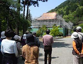 大本山向嶽寺を見学しました