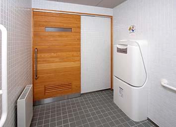 竣工内観 身障者用トイレ その1