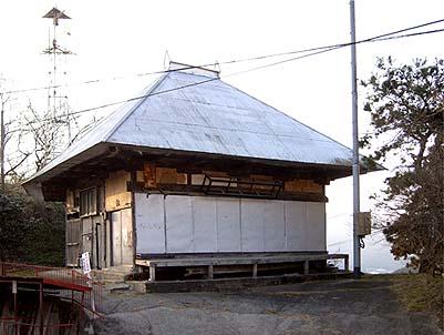 修理前の観音堂