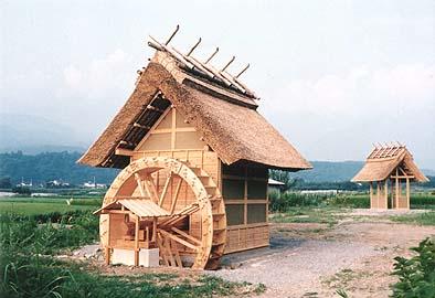 平成6年竣工当時の武川村水車