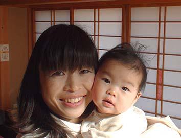 橋爪史子ママと空夏(そらか)ちゃん