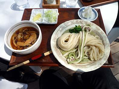 ふるさと文化館1階レストランの「武蔵野うどん」はたいへん美味でした