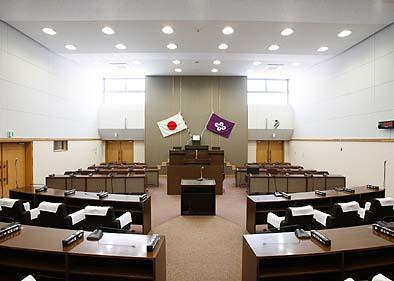3階にある議会議場