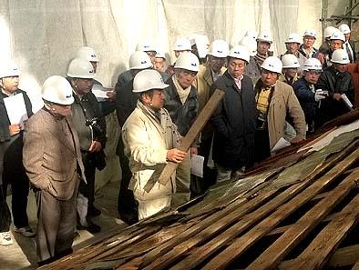 文建協の鈴木誠所長から工事の詳しいお話をいただきました