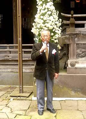 乙事にお住まいで諏訪大社の修理顧問をされている五味盛重先生から諏訪大社のお話をいただきました