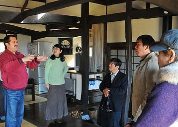 M邸は旦那さまがアメリカ人、美しい日本の民家について熱く語っていただきました